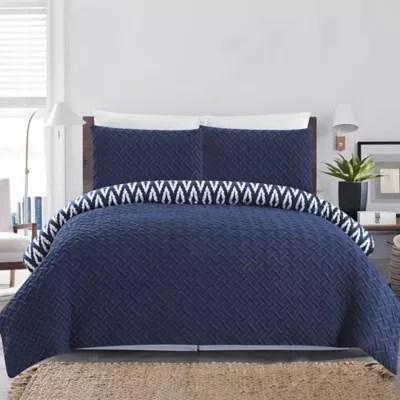 navy comforter set bed bath beyond