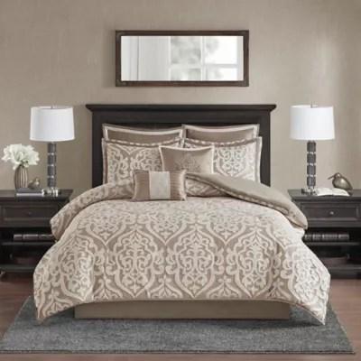 tan comforter sets queen bed bath