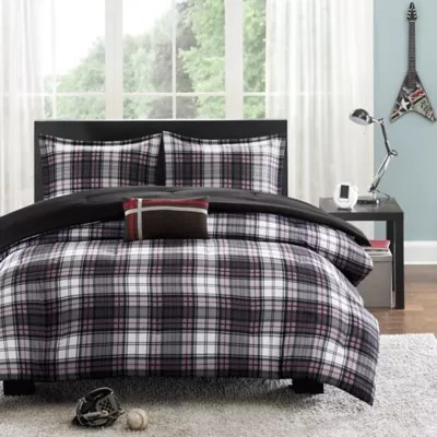 black and red comforter bed bath beyond