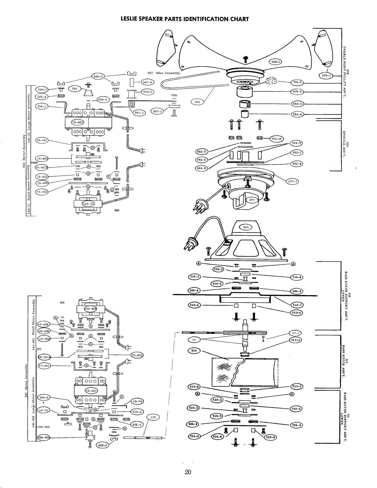 Leslie Speaker 122 122rv Owner S Manual