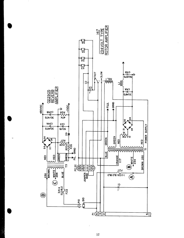 Leslie Speaker 145 147 247 Owner S Manual