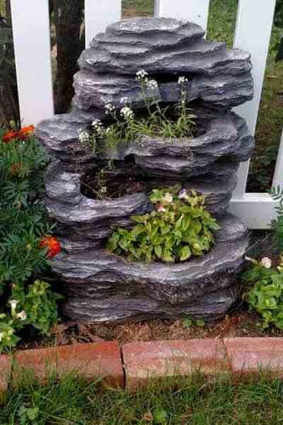 Repurposed Waterfall