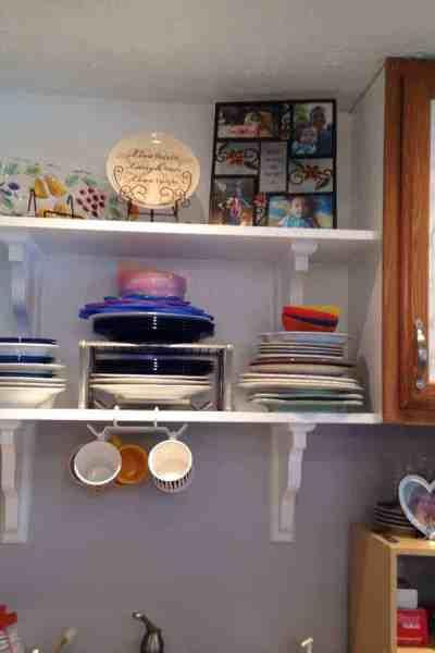 Adding Kitchen Cabinet Open Shelving