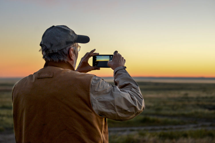 The American Prairie Reserve also is a great place for people to reconnect with nature. Photo by Steve Woodruff