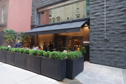 review of New York Indian restaurant Indian Accent by Andy Hayler in August 2017