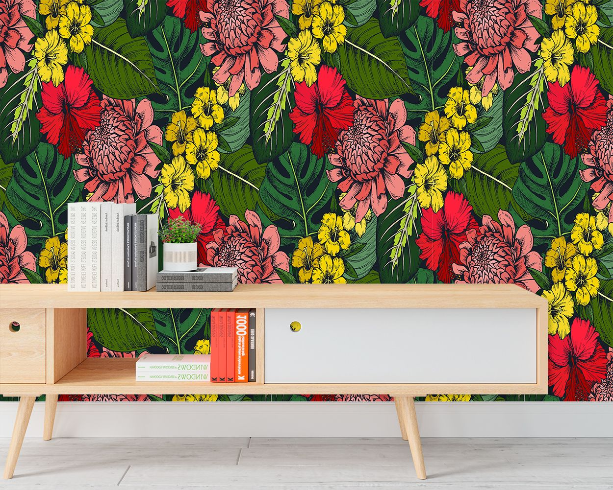 Botanical Wallpaper Kuarki Lifestyle Solutions