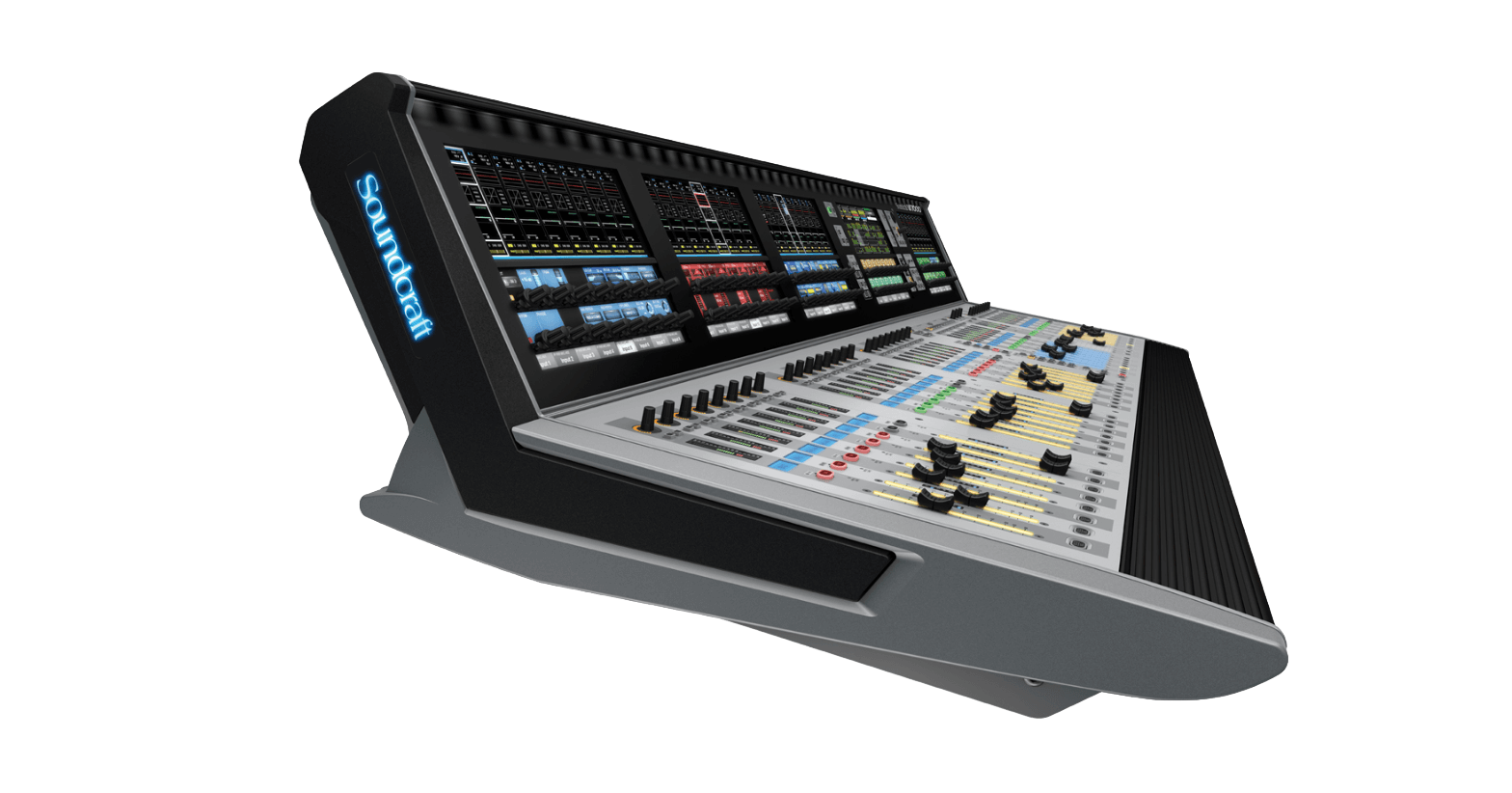 Sales and custom installation of production recording studio Audio Mixing Consoles.