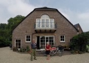 Maria and Sjaak hosted us in Utrecht in their lovely renovated farmhouse.