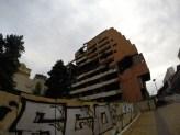 Derelict building in Belgrade.