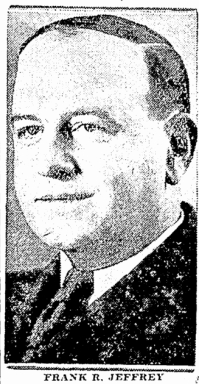 """Attorney Frank Jeffrey from an October 23, 1931 Seattle Times """"paid advertisement"""" for Mutual Groceries."""