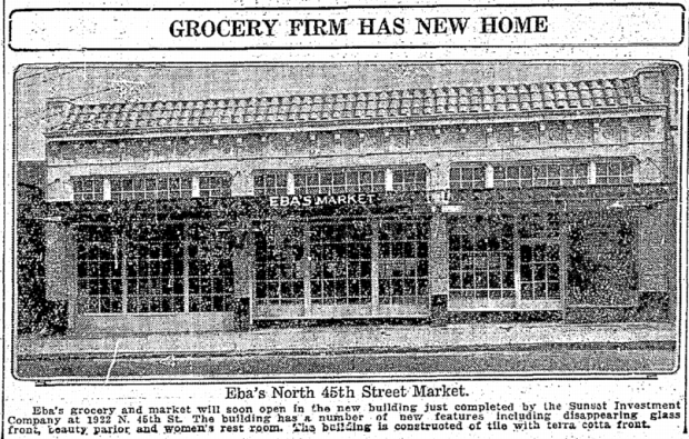 New store (Seattle Times, May 01 1927)