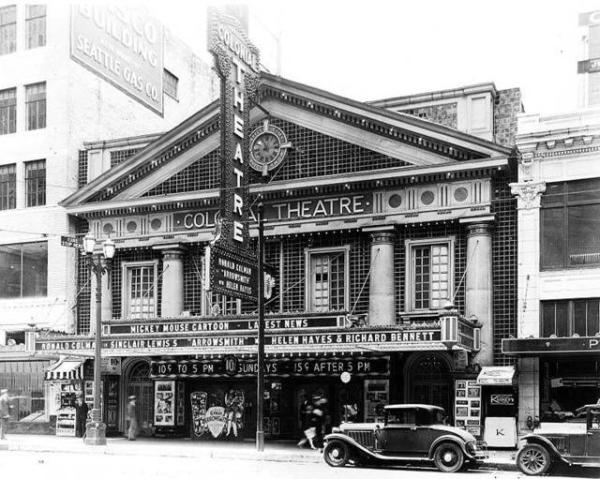 Colonial Theatre in undated photo (on Cinema Treatures; origin unknown)