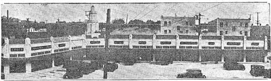 Motor-In Market as built (October 16, 1930 Seattle Times)