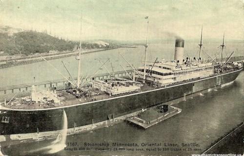 SS Minnesota in Seattle