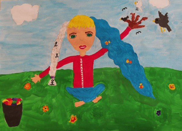 Drawing by 10-year-old girl to represent Sarajevo at Busan film festival -  N1