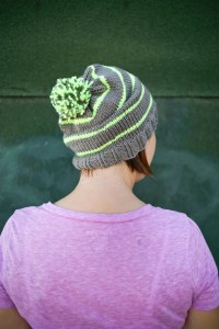 Neon Slouch Hat