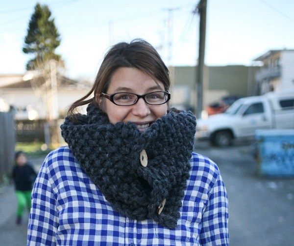 cozy and quick scarf