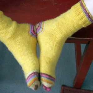 Toe Up Socks with Holli Yeoh
