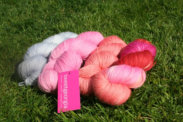 *New* colours this spring... left to right: Dreamboat, Peony, Grapefruit and Lovestruck
