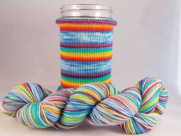 One of the mystery yarns to be revealed on June 26th...