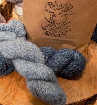 Blue-Americo Eco Dyed Alpaca