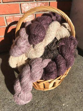 Basket-Americo Eco Dyed Alpaca