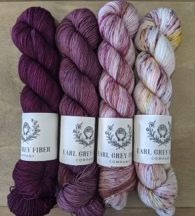(from left to right) Victoria, Sweater Weather, Apothecary, Tea Party