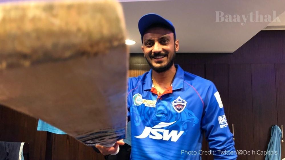 Axar Patel hit three sixes in the last over to seal the win against CSK - Baaythak