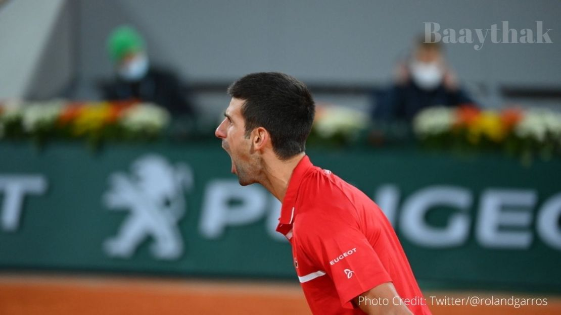Djokovic into French Open final after and epic battle with the Greek Stefanos Tsitsipas - Baaythak.com