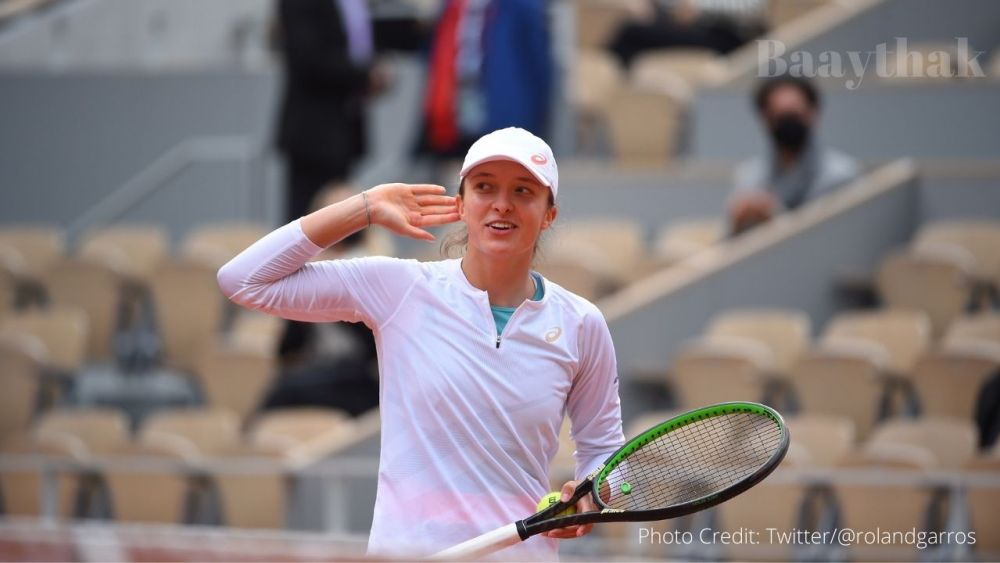 French Open - 19 Years old Sweatek the First Polish to reach French Open Final after 81Year s - Baaythak