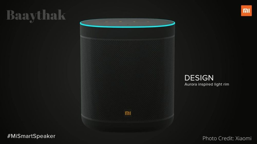 Mi Smart Speaker Design - Baaythak