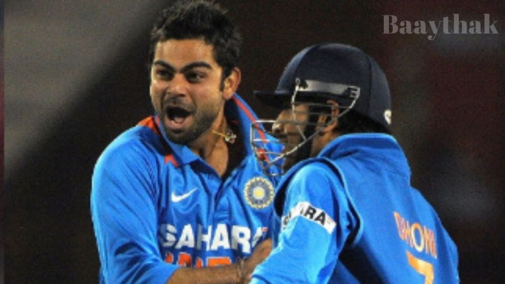 Virat Kohli took wicket on his Zeroth Ball - Baaythak