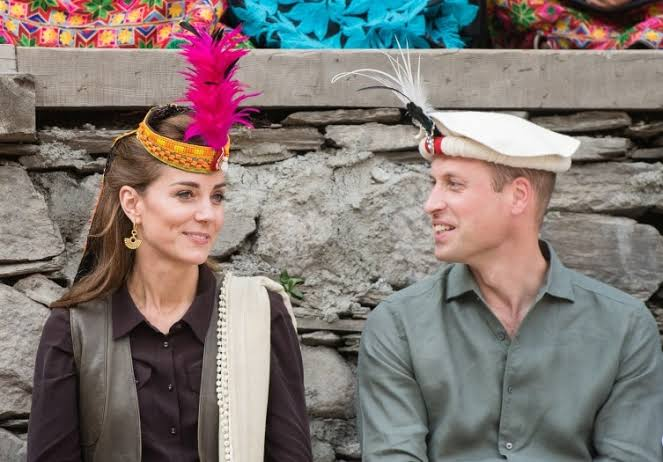 Prince William and Princess Kate in Kalash valley