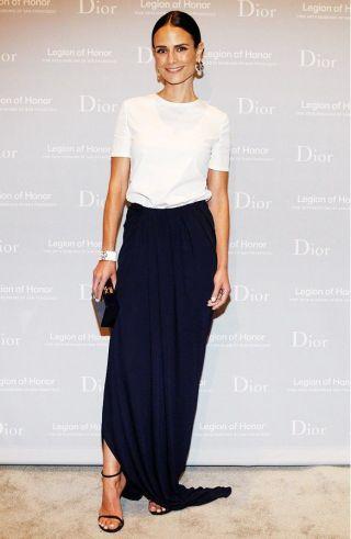 white-shirt-and-maxi-skirt