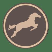 cheval brun foncé