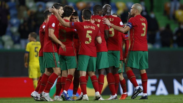 UEFA Nations League: Portugal beat Sweden 3-0