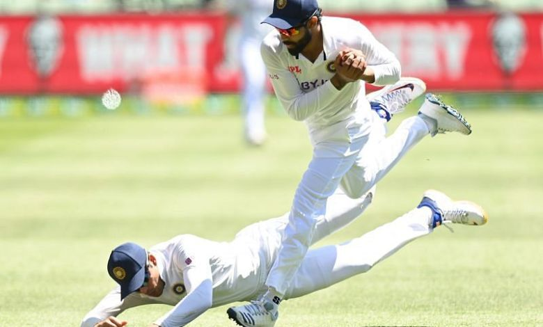 IND vs AUS Test: Ravindra Jadeja takes a blinder catch after collision with Shubman Gill
