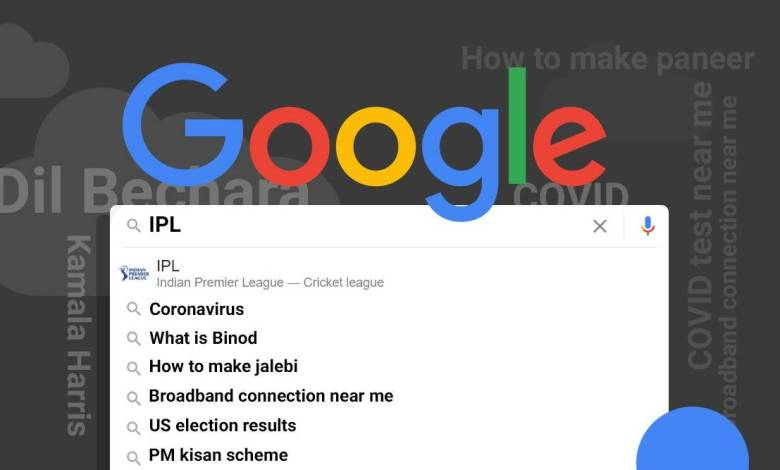 IPL is the top trending query on Google in India Search 2020