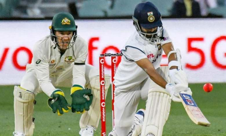 Ajinkya Rahane prepared for Australia tour by taking blows on his body during the practice session