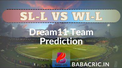 Photo of SL-L vs WI-L: Match 6 Dream11 Team Prediction & Latest Updates