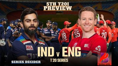 Photo of IND vs ENG 5th T20I: Dream11 Team Prediction & Latest Team News