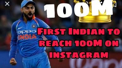 Photo of Virat Kohli crosses 100 million followers on Instagram