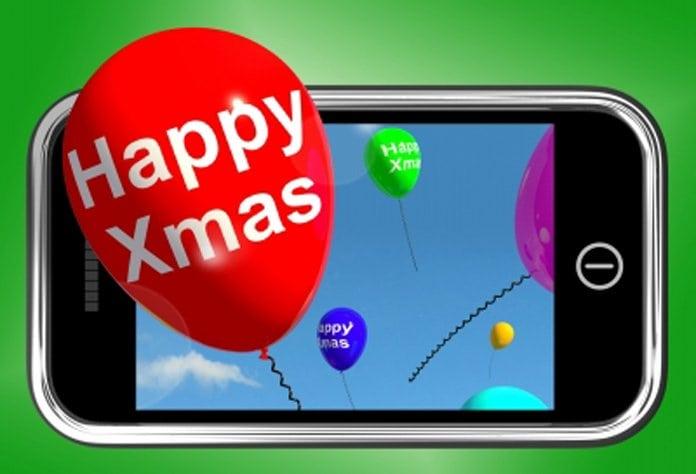 telefon karácsonyra