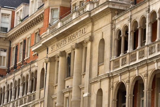 St. Mary Kórház, London