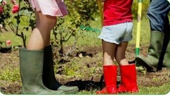 közösségi kertek gyerekkel