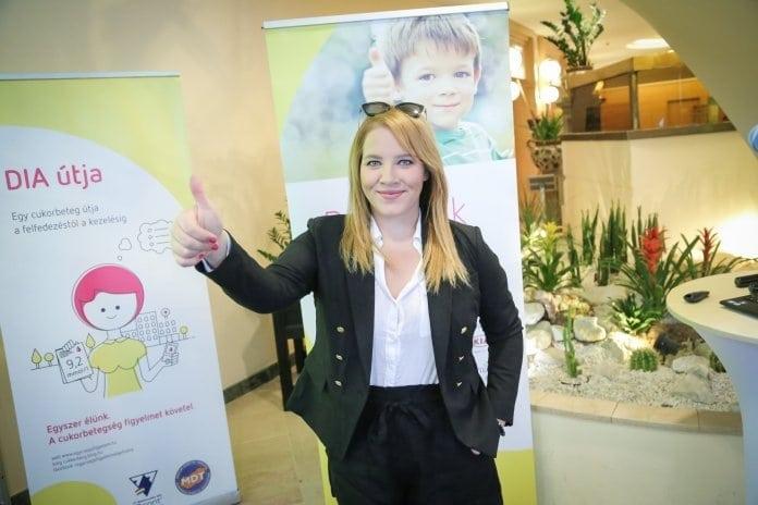 ingyenes kiadvány a cukorbetegségről, Tóth Vera