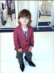 Celine Dion 2 éves kisfia