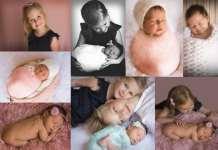 Kulcsár Csilla, újszülött fotózás