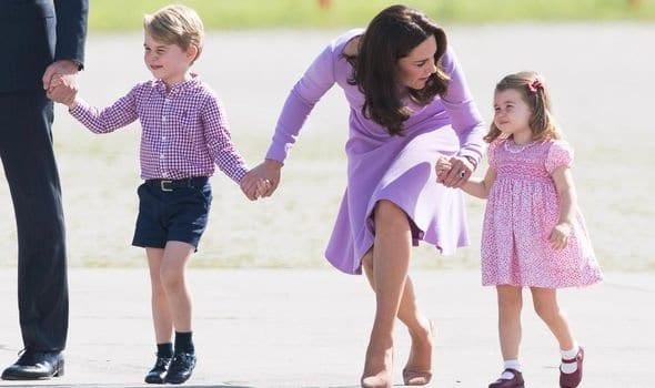 György herceg, Charlotte hercegnő