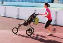 futás gyerekkel